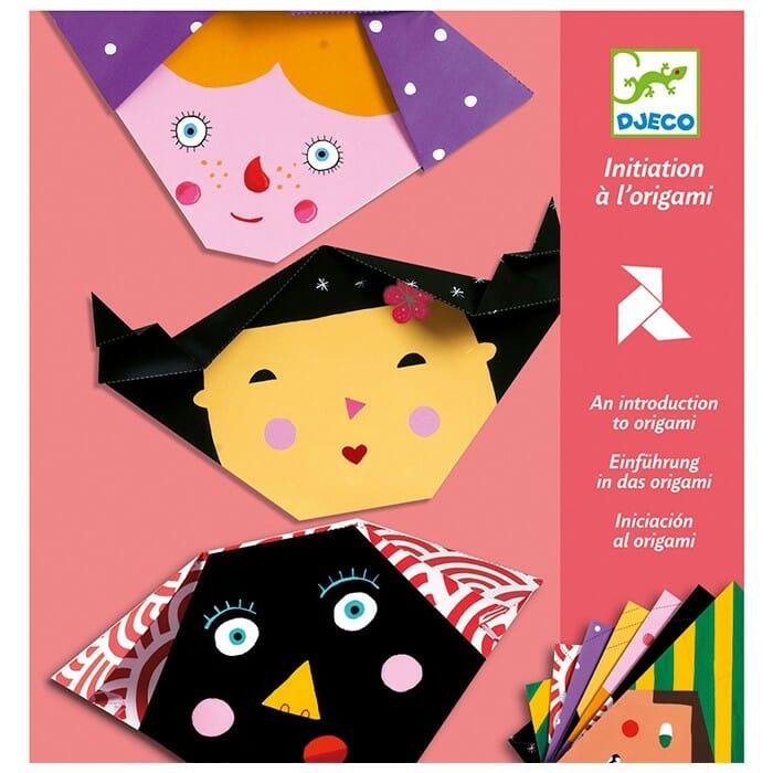 manualidades Djeco - introducción al Origami infantil