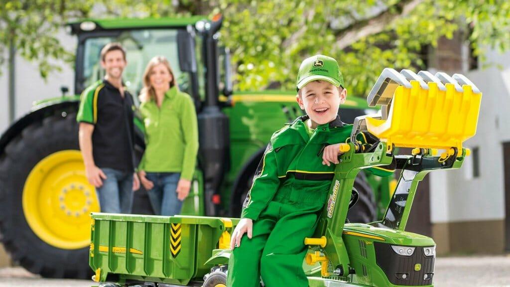 Tractores infantiles, tan auténticos como los profesionales