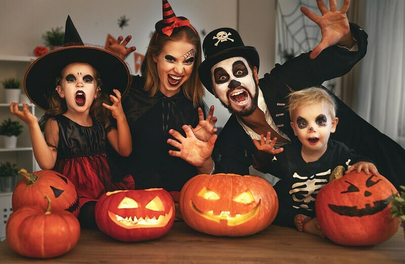 Disfrazes de halloween para toda la familia