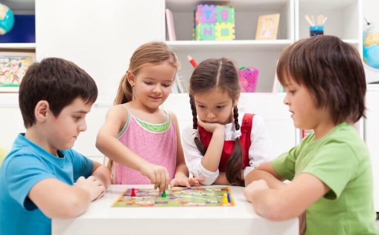 beneficios juegos de mesa para niños