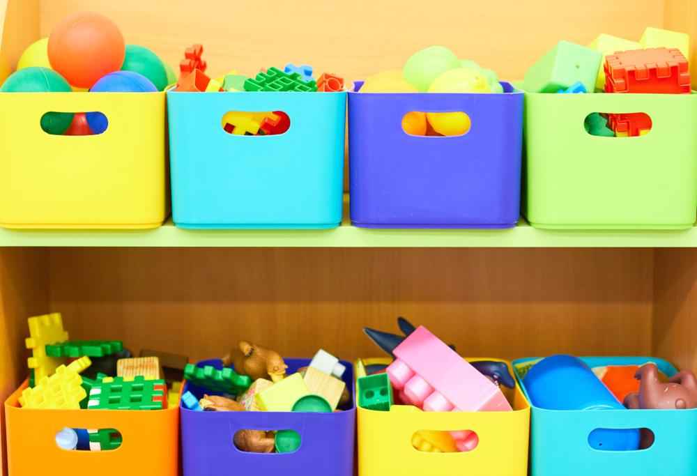 estanterias bajas para juguetes