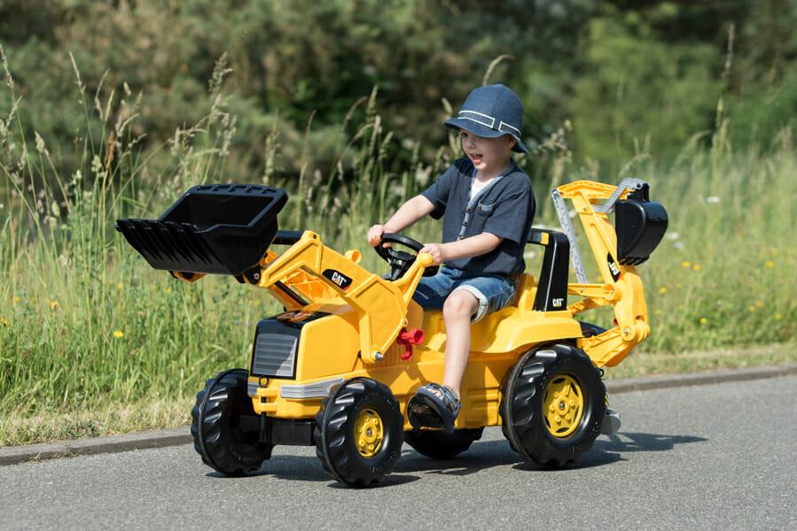 Tractor Excavadora con 2 Palas
