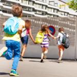 materiales escolares para niños