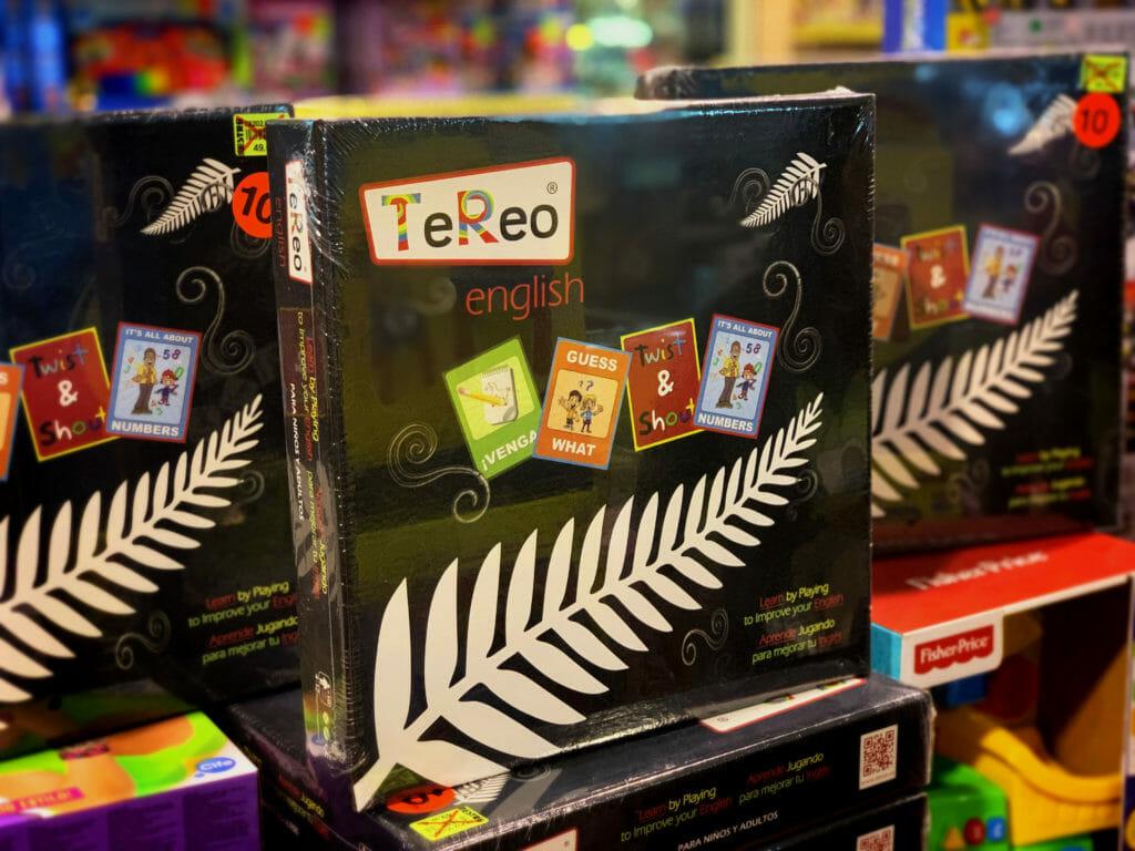 juego de mesa para aprender inglés durante la infancia