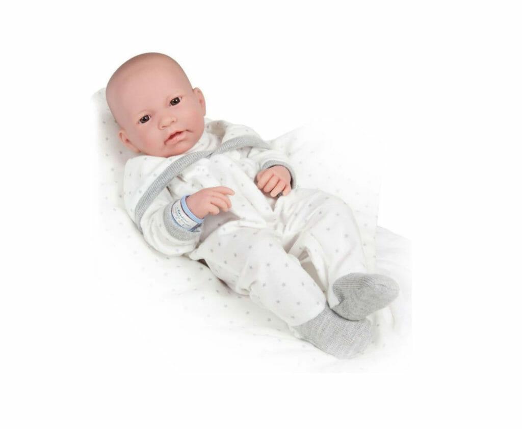 Muñeco Newborn Recién Nacido con Manta y Accesorios