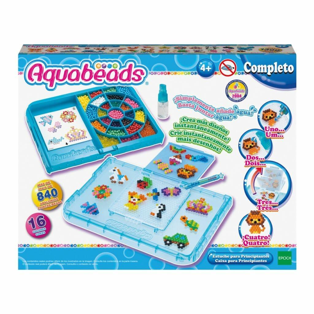El kit de Aquabeads con todo lo necesario para introducirse en su mundo mágico