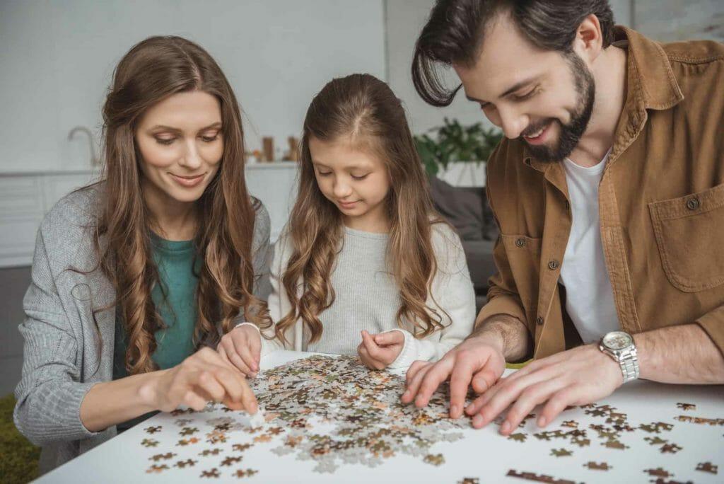 tips para padres jugar a puzles
